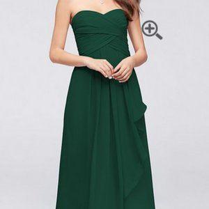 Strapless floor length dress